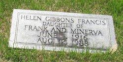 Bertha Helen <i>Gibbons</i> Francis
