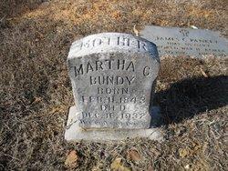 Martha Caroline Carrie <i>White</i> Bundy