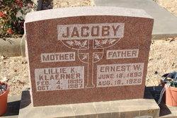 Lillie K <i>Klaerner</i> Jacoby