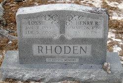 Lossie <i>Thomas</i> Rhoden