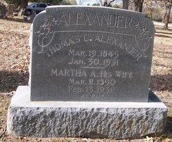 Martha A <i>Banta</i> Alexander