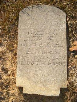 John M Atkinson