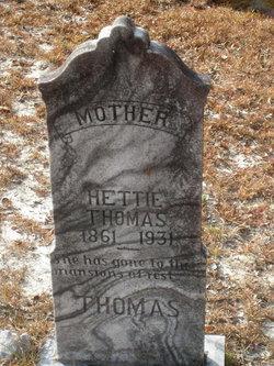 Hettie <i>Durrance</i> Thomas