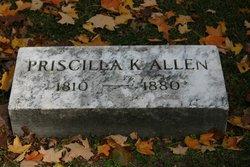 Pricilla K Allen