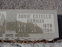 Annie Estelle <i>Harman</i> Andrews