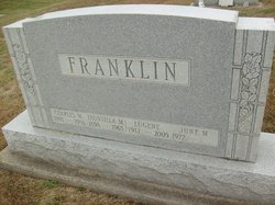Fauntilla M. <i>Hardwick</i> Franklin