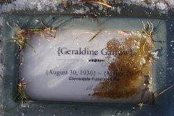 Geraldine Gerry <i>Wade</i> Garrow