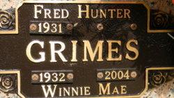 Winnie Mae <i>Rich</i> Grimes