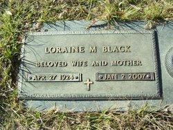 Loraine M <i>Thornton</i> Black