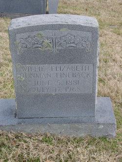 Willie Elizabeth <i>Lineback</i> Dunman