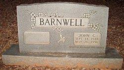 John G Barnwell