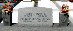 Philomene Marie Hebert <i>Savoie</i> Breaux