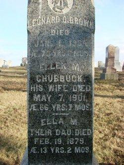 Ellen M. <i>Chubbuck</i> Brown