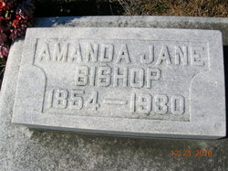Amanda Jane <i>Lewis</i> Bishop