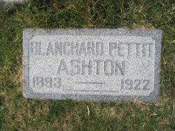 Blanchard Pettit Ashton