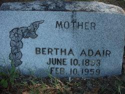 Bertha Adair