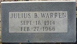 Julius B Warren