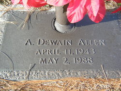A. Dewain Allen