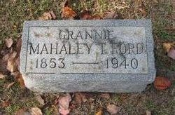 Mahaley T Ford