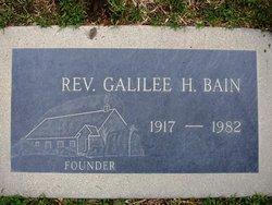 Galilee H <i>Clevenger</i> Bain