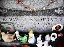 Alice C <i>Anthony</i> Anderson