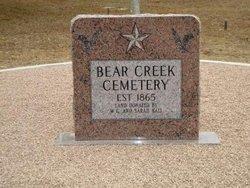 Bear Creek Cemetery