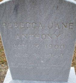 Rebecca Jane <i>Clark</i> Anthony