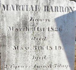 Martial Barron
