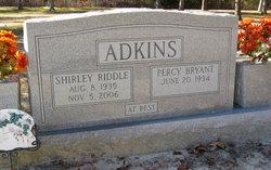 Shirley <i>Riddel</i> Adkins