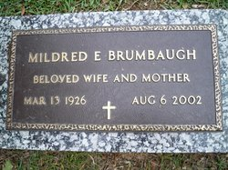 Mildred Elizabeth <i>Willette</i> Brumbaugh