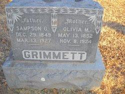 Olivia Amanda Mandy <i>Wills</i> Grimmett