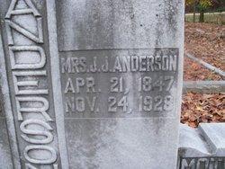 Susannah A. <i>Nix</i> Anderson