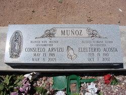 Consuelo <i>Arvizu</i> Munoz
