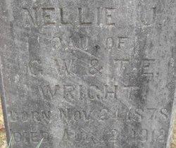 Nellie J Wright