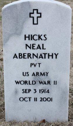 Pvt Hicks Neal Abernathy