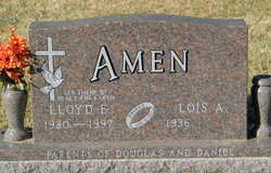 Lloyd E Amen