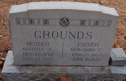 Annie Martha Martha <i>Maddox</i> Grounds