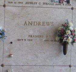 Frances Pearl Andrews