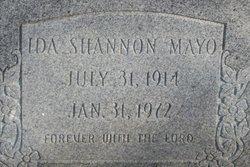 Ida <i>Shannon</i> Mayo