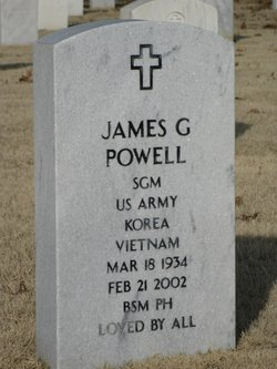 Sgt Maj James Gentry Powell
