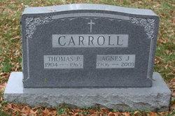 Agnes J <i>Clark</i> Carroll