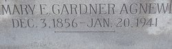 Mary Ellen <i>Gardner</i> Agnew