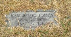 Josie <i>Peters</i> Holmes