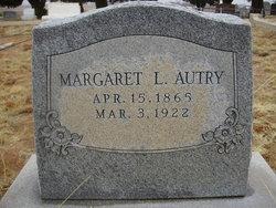 Margaret Louise <i>Schlobolm</i> Autry
