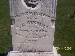 Vilette M <i>Eastman</i> Berkley