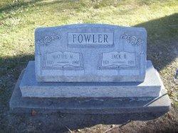 Mattie M. <i>Fivash</i> Fowler