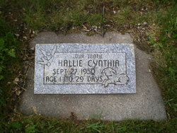 Hallie Cynthia Unknown