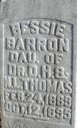 Bessie <i>Thomas</i> Barron