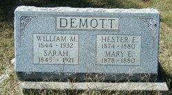 Hester E. Demott