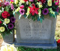 Dessie Rosalie <i>Burnett</i> Edmondson